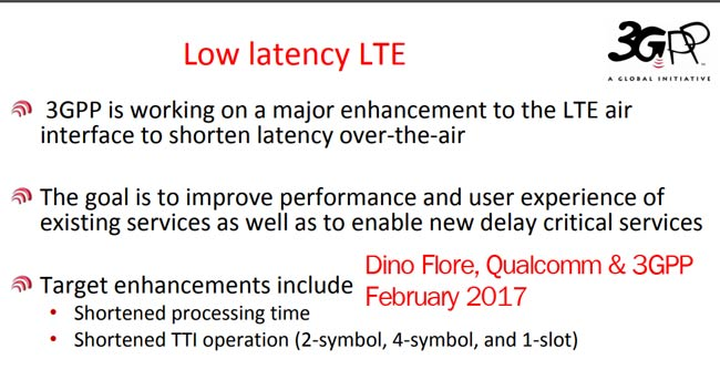 Flore Low Latency LTE