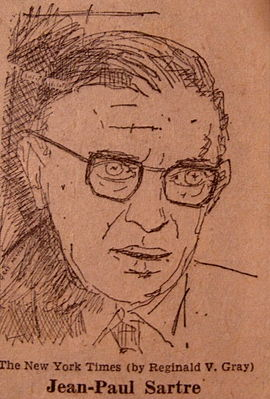 Jean Paul Sartre by Gray
