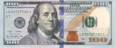 100 Federal Reserve Note 230