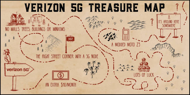 verizon 5g treasure hunt map650