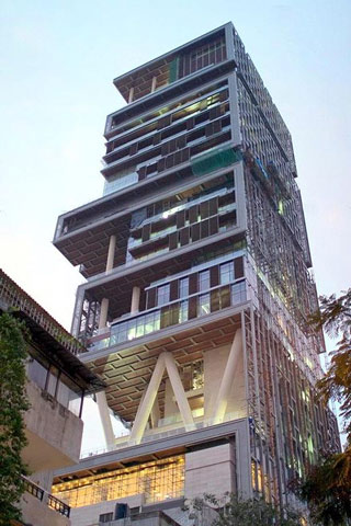 Ambanis house Antilla