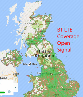 BT LTE Coverage Open SIgnal 325