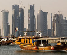 Qatar by StellarD via Wikipedia 230